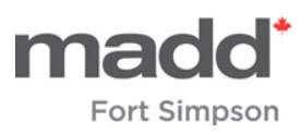 MADD Fort Simpson CL